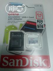 64gb Memory Card /80speed | Accessories for Mobile Phones & Tablets for sale in Lagos State, Ikeja