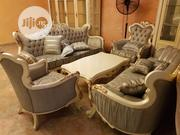 Classic New Modern 8 Seaters Royal Sofa With Centre Table | Furniture for sale in Lagos State, Lekki Phase 1