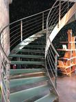 Stainless Steel Stair Railing And Glass Doors | Building & Trades Services for sale in Ikeja, Lagos State, Nigeria