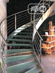 Stainless Steel Stair Railing And Glass Doors | Building & Trades Services for sale in Lagos State, Ikeja