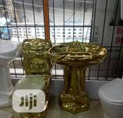 Executive Gold Water Closet With Basin And Pedestal | Plumbing & Water Supply for sale in Lagos State, Orile
