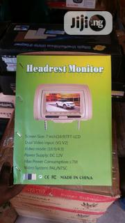 Headrest Monitor 7 Inches LCD Remote Functions | Vehicle Parts & Accessories for sale in Abuja (FCT) State, Gudu