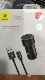 Baseus Dual USB Quick Charge   Accessories & Supplies for Electronics for sale in Lagos State, Ikeja
