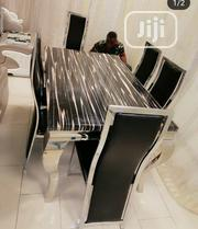 Quality Marble Dining Table by 6 | Furniture for sale in Lagos State, Ikeja