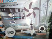 Boscon 18 Inches Rechargeable Stand FAN BOS-RF2618R | Home Appliances for sale in Lagos State, Ojo