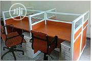 Step By Four Work Station With Mobile Step Drawers. | Furniture for sale in Lagos State, Ikeja