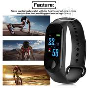 M3 Smart Watch Bracelet Fitness Tracker Color LED Sports BP | Smart Watches & Trackers for sale in Lagos State, Lagos Island