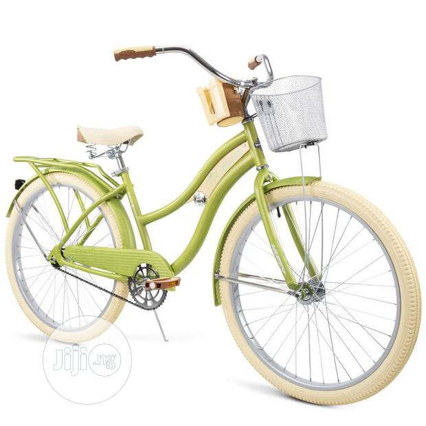Huffy Nel Lusso Cruiser Bike With Perfect Fit Frame