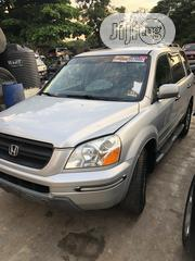 Honda Pilot 2004 EX-L 4x4 (3.5L 6cyl 5A) Silver | Cars for sale in Lagos State, Lekki Phase 1