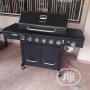 6burner Barbecue Grill With Side Cooker | Kitchen Appliances for sale in Lagos State, Ojo