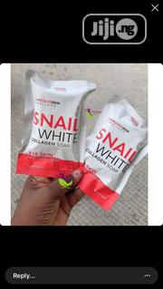 Snail White Collagen Whitening Face Soap | Skin Care for sale in Lagos State, Amuwo-Odofin
