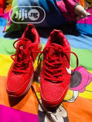 Used Red Canvas Very Neat And Clean. | Shoes for sale in Delta State, Uvwie