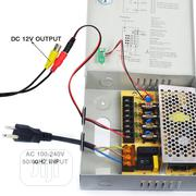 4WAYS POWER BOX CCTV/LED 12v DC Power Supply Box (4 Port 5AMP) | Security & Surveillance for sale in Lagos State, Ikeja