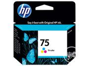 HP 75 Ink Cartridge | Accessories & Supplies for Electronics for sale in Lagos State, Ikeja