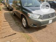 Toyota Highlander Limited 2009 Green | Cars for sale in Abuja (FCT) State, Garki 1