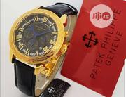 Top Quality Patek Philippe Designer Leather Time Piece | Watches for sale in Lagos State, Magodo