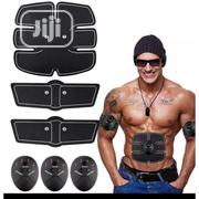 6 Pack Abdominal Simulator EMS ABS Electric Muscle Simulator | Sports Equipment for sale in Lagos State, Ikeja