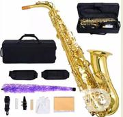 Alto Saxophone Gold Full Option. | Musical Instruments & Gear for sale in Lagos State, Ojo