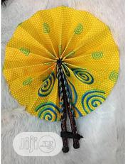 Ankara Made Handfan | Clothing Accessories for sale in Lagos State, Lagos Island