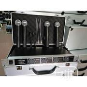 Sm9090 4-in-1 Uhf Wireless Microphone System | Audio & Music Equipment for sale in Abuja (FCT) State, Apo District