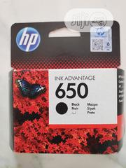 HP Ink Advantage 650 Black. | Accessories & Supplies for Electronics for sale in Lagos State, Ajah