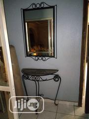 Beautiful Metal Crafted Dressing Mirror And Curve Table | Home Accessories for sale in Abuja (FCT) State, Jahi