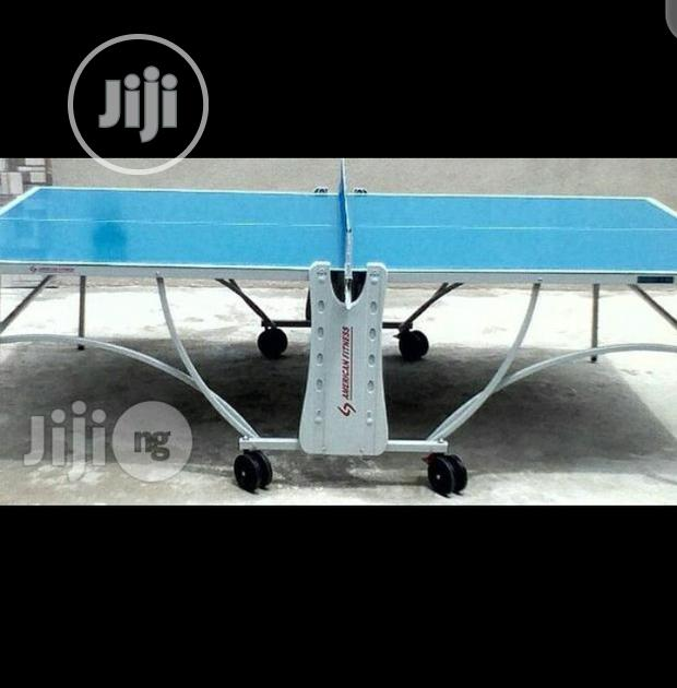 Quality Standard Outdoor Table Tennis Board