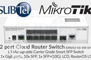 Mikrotik Crs212-1g-10s-1s+In Fiber Switch | Computer Accessories  for sale in Lagos State, Ikeja