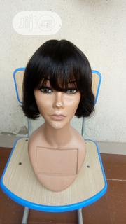 Short Fringe Human Hair Wig | Hair Beauty for sale in Lagos State, Ikeja