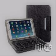 Universal 9 And 10.1 Inch Tablet Pc Bluetooth Leather Keyboard Case | Accessories for Mobile Phones & Tablets for sale in Lagos State, Ikeja