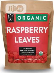 FGO Organic Red Raspberry Leaf Herbal Tea, 100% Raw (200+ Cups) - 453g | Vitamins & Supplements for sale in Lagos State, Lekki Phase 1