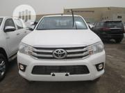 Toyota Hilux 2019 SR 4x4 White   Cars for sale in Lagos State, Victoria Island