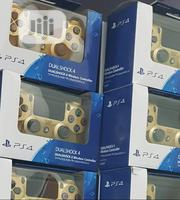 PS4 Game Controller Gold & Other Colours Available | Accessories & Supplies for Electronics for sale in Lagos State, Ikeja