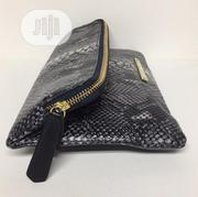 BRAHMIN Byrant Python - Embossed Black Leather Purse | Bags for sale in Lagos State, Lagos Mainland