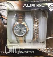 Auriol Wrist Watch and Bracelets Set | Jewelry for sale in Lagos State, Lagos Island