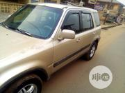 Honda CR-V 2.0 4WD Automatic 2000 Gold | Cars for sale in Oyo State, Oluyole
