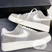NIKE Air Force 1 Cool Grey White Sneakers | Shoes for sale in Lagos State, Lagos Island