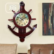 Wooden Pendulum Decor Wall Clock | Home Accessories for sale in Lagos State, Lagos Island