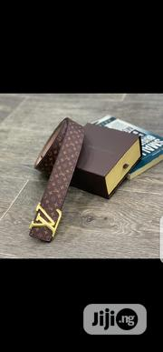 Louis Vuitton Belt Original | Clothing Accessories for sale in Lagos State, Surulere
