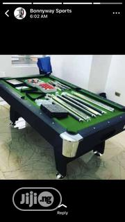 8feet Snooker Board With Complete Accessories | Sports Equipment for sale in Lagos State, Agege