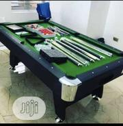 7feet Snooker Board With Complete Accessories and Cover | Sports Equipment for sale in Lagos State, Ajah
