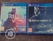 PS4 CD 2-IN-1 (Mortal Kombat Xl, Battlefield 5) | Video Games for sale in Lagos State, Ikeja