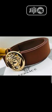 Versace Belt Original 0010 | Clothing Accessories for sale in Lagos State, Surulere