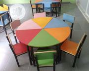 KG School Table + 6 Chairs | Furniture for sale in Rivers State, Port-Harcourt