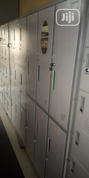 Metal Workers Lockers By 6 Lockers With Padlock Space | Furniture for sale in Lagos State, Lagos Island