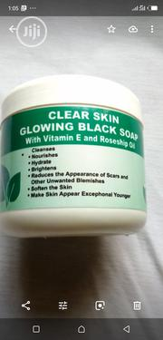 Glowing Black Soap With Vitamin E and Roseship Oil | Bath & Body for sale in Abuja (FCT) State, Dutse-Alhaji