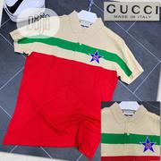 Gucci Latest Collar Tshirt New | Clothing for sale in Lagos State, Ojo