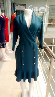 Green Office Dress for Ladies | Clothing for sale in Lagos State, Ajah