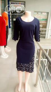 Blue Pleeted Turkey Dress | Clothing for sale in Lagos State, Ajah