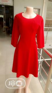 Red Turkey Flare Dress | Clothing for sale in Lagos State, Ajah